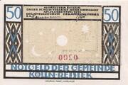 50 Pfennig (Kölln-Reisiek) – avers