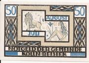 50 Pfennig (Kölln-Reisiek) – revers