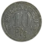 10 pfennig - Königsee in Thüringen – revers
