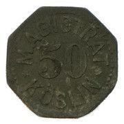 50 pfennig - Köslin – avers