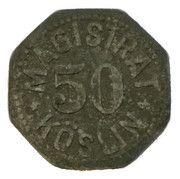 50 pfennig - Köslin – revers