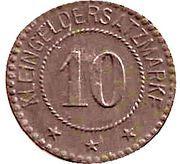 10 pfennig - Köslin – revers
