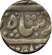 1 Roupie - Shambhuji II for Mohammad Shah – avers