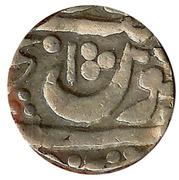 1 Roupie - Shambhuji II for Mohammad Shah – revers