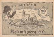 20 Heller (Kollmitzberg) -  revers