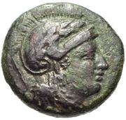 Bronze Æ16 (Kolone) -  avers