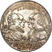 1 Thaler - Karl Ferdinand, Christian Moritz Eugen and Maximilian Friedrich – avers