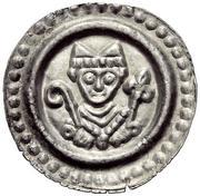 1 BRakteat - Heinrich II. von Klingenberg and Nikolaus von Frauenfeld – avers