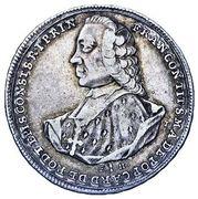 ¼ Thaler - Franz Konrad von Rodt – avers