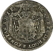 1 groschen Franz Conrad von Rodt – avers