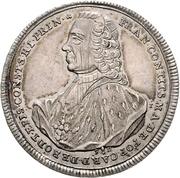 ½ Thaler - Franz Conrad von Rodt – avers