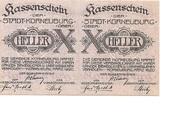 20 Heller (Korneuburg) -  avers