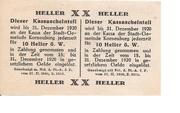20 Heller (Korneuburg) -  revers