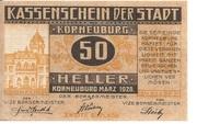 50 Heller (Korneuburg) -  avers