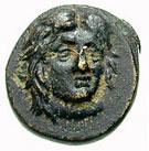 Bronze Æ13 (Kos) – avers