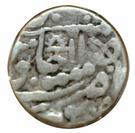 1 Rupee  Muhammad Bahadur Shah II (Kotah) – revers
