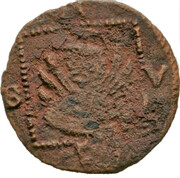 1 Follaro (Venetian grosso type, Zaccaria Salomon) – revers