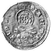 Mezzo Grosso - Štefan Uroš, 1355-1371 (Serbian Empire occupation) – avers