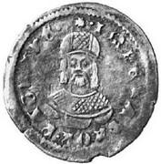 Mezzo Grosso - Štefan Uroš, 1355-1371 (Serbian Empire occupation) – revers