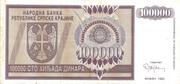 100.000 Dinara – avers