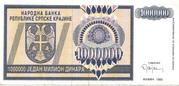 1.000.000 Dinara – avers