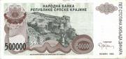 500.000 Dinara – avers