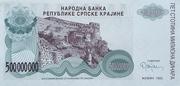 500 000 000 Dinara -  avers