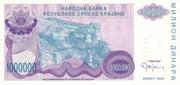 1000000 Dinara – avers