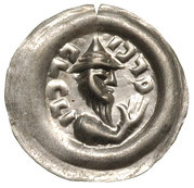 Brakteat - Leszek Biały (Kraków mint) – avers