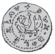 Brakteat - Bolesław V Wstydliwy or Bolesław Pobożny (Kraków mint) – avers