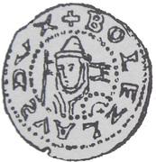Brakteat - Bolesław V Wstydliwy or Bolesław Pobożny (Kraków or Poznań mint) – avers