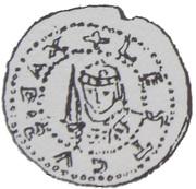 Brakteat - Leszek Czarny (Kraków mint) – avers