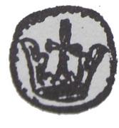 Denar - Wacław II Czeski (Kraków mint) – avers