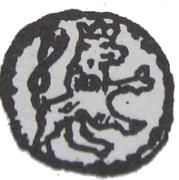 Denar - Wacław II Czeski (Kraków mint) – revers