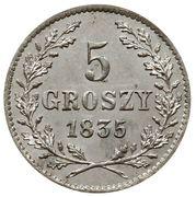 5 Groszy – revers
