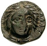 Bronze Æ11 (Kranaos) – avers