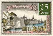 25 Pfennig (Kremp) – revers