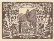 50 Heller (Krimml) – revers