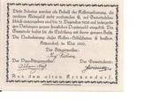 20 Heller (Kritzendorf) -  revers