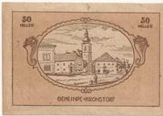 50 Heller (Kronsdorf) -  avers