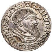 3 Groshen - Johann (Duché de Krosno) – avers