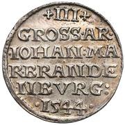 3 Groshen - Johann (Duché de Krosno) – revers