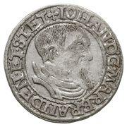 1 Groshen - Johann -  avers