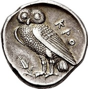 1/2 Stater – revers