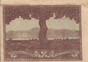 20 Heller (Krummnussbaum) – revers