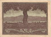 10 Heller (Krummnussbaum) – revers