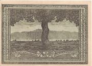 50 Heller (Krummnussbaum) – revers