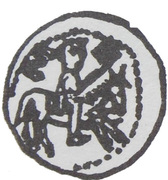 Denar - bishop kujawski Stefan (Włocałwek mint) – avers