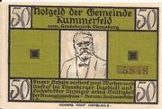 50 Pfennig (Kummerfeld) – avers