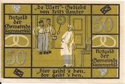 50 Pfennig (Kummerfeld) – revers